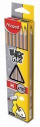 Maped Black`Peps Grafitceruza radírral H