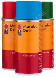 Marabu Festék Spray 150ml Fényes Fekete