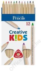 ICO Creative Kids Natúr Színes ceruza 12db