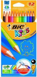 BIC Színes ceruza hajlékony Evolution 12db
