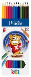 ICO Creative Kids Színes ceruza 12db (TICSZCV12)