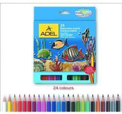 ADEL Akvarell Színes ceruza 24db