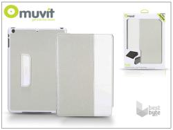 muvit Fold Smart Case for iPad Air - White/Grey (I-MUCTB0221)