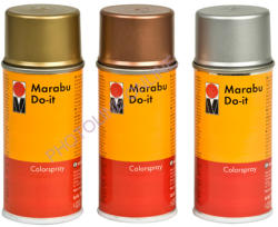 Marabu Akril Festék Spray 150ml Vörösarany