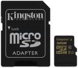 Kingston MicroSDHC 32GB Class 10 UHS-I SDCA10/32GB