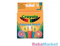 Crayola Félhosszú színes ceruza 12 db