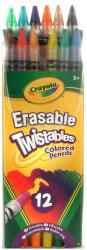 Crayola Csavarható színes ceruza radírvégű 12db