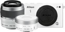 Nikon 1 J4 Double Zoom Kit + 10-30mm + 30-110mm