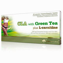 OLIMP SPORT NUTRITION CLA with Green Tea Plus L-Carnitine - 60 caps