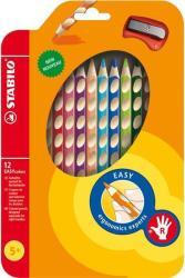 STABILO EasyColors jobbkezes színes ceruza 12db