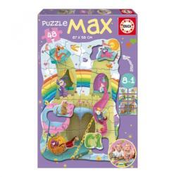 Educa Max Puzzle - Lovagok és hercegnők 48 db-os (15902)
