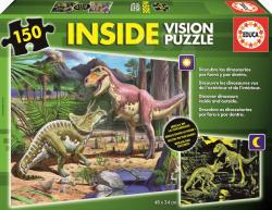 Educa Dinoszauruszok kívül-belül 150 db-os (15897)