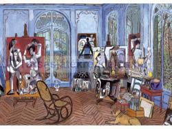 Educa Picasso műterme 3000 db-os (15539)