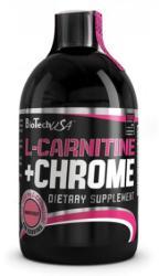 BioTechUSA L-carnitine + Chrome - 500ml
