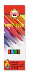 Koh-I-Noor Színes ceruza famentes Progresso 8755 6db