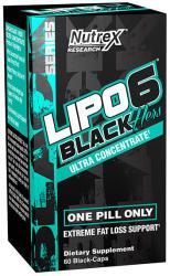 Nutrex Lipo 6 Black Hers - 60 caps