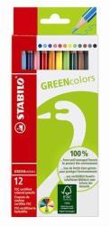 STABILO Színes ceruza GreenColours 12db