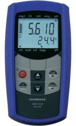 Greisinger GMH 5550 vízálló pH- és redoxmérő kéziműszer