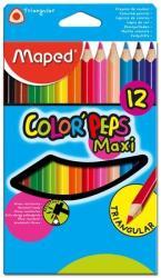 Maped COLOR`PEPS Maxi színes ceruza 12db