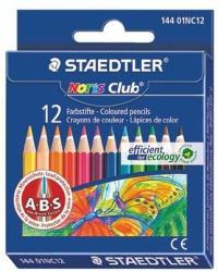 STAEDTLER Színes ceruza félhosszú Noris Club 12db