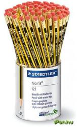 STAEDTLER Grafitceruza radírral HB Noris 72db (TS122KP72)