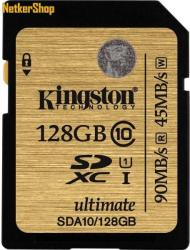 Kingston SDXC Ultimate 128GB UHS-I SDA10/128GB