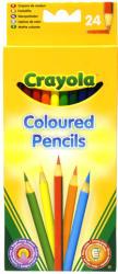 Crayola Előre hegyezett extra puha színes ceruza 24db