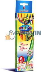 Carioca Háromszögű Jumbo színes ceruza hegyezővel 6db