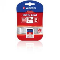 Verbatim Premium SDHC 16GB Class 10 UHS-I 43962