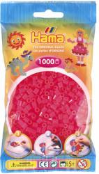 Hama Midi gyöngy 1000db-os - pink, átlátszó