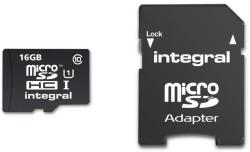 Integral UltimaPro microSDHC 16GB Class 10 INMSDH16G10-40U1