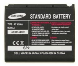 Samsung LI-ION 1000 mAh AB603443CEC