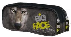 UNIPAP Mountain Big Face tolltartó 2 cipzárral - farkas (UNBFTW)