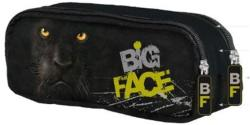 UNIPAP Mountain Big Face tolltartó 2 cipzárral - párduc (UNBFTP)