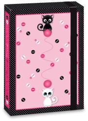 Ars Una Think-Pink cicás füzetbox A/4