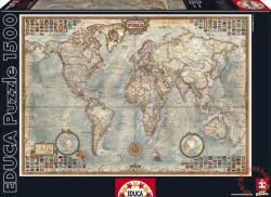 Educa Politikai világtérkép 1500 db-os (16005)