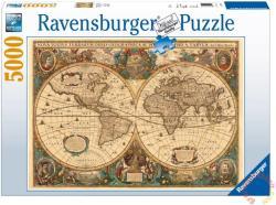 Ravensburger Történelmi világtérkép 5000 db-os (17411)