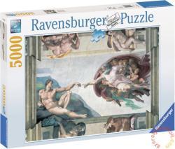 Ravensburger Michelangelo: Ádám születése 5000 db-os (17408)