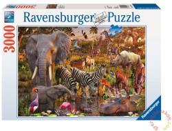 Ravensburger Afrikai állatok 3000 db-os (17037)