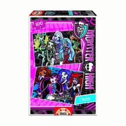 Educa Monster High Szörnysuli 2 x 100 db-os (15629)
