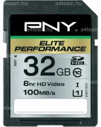 PNY SDHC Elite Performance 32GB SD32G10ELIPER-EF