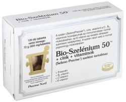 Pharma Nord Bio-Szelénium 50+Cink+Vitaminok tabletta (120db)