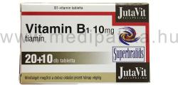 JutaVit Vitamin B1 10mg tabletta - 30 db