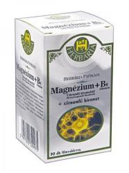 Herbária Magnézium+B6-vitamin+Citromfű tabletta - 30 db