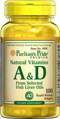 Puritan's Pride A&D vitamin - 100db
