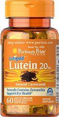 Puritan's Pride Lutein 20mg kapszula - 60db