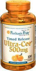 Puritan's Pride Ultra Cee 500mg - 100db