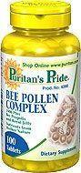 Puritan's Pride Bee pollen komplex - 100db
