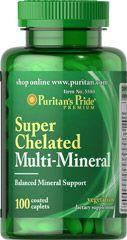 Puritan's Pride Multi minerals - 100db