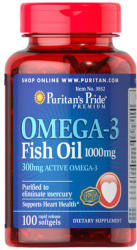 Puritan's Pride Omega-3 Fish Oil 1200mg - 100db